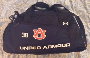 Under Armour AUBURN FOOTBALL TEAM ISSUED Bag Backpack Duffle BEST OFFER