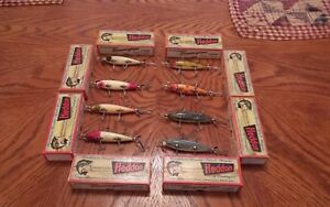 Heddon 150s Fishing Lure Set of 8 With Boxes