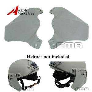 FMA Tactical Airsoft Rubber Ear Cover Side Protection FG for Fast Helmet Rail