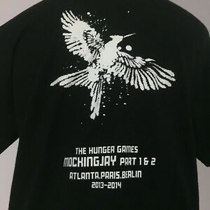 Hunger Games Mockingjay Crew T-shirt Size M