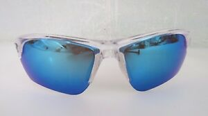 UNDER ARMOUR SUNGLASSES WINDUP YOUTH  CLEAR W BLUE LENS 8600096-141451