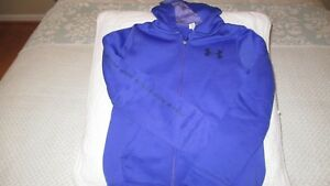 Full zip Under Armour hoodie - Girls Small