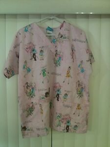 Nursing Scrubs HQ Pink Medium Dogs America#x27;s Next Top Mongrel