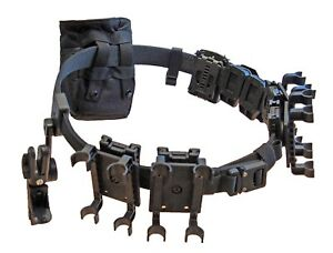 DLP Tactical Complete 3-Gun Competition Belt Rig System with Holster