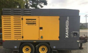 2010 ATLAS COPCO XAHS900CD6 Compressor 3936 Hours - Well Maintained - Wyoming
