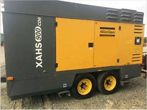 2011 ATLAS COPCO XAHS900CD6 Compressor 6231 Hours - Well Maintained - Iowa