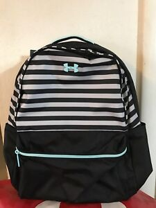 NWT Under Armour Storm Favorite 2.0 Women Backpack Mint Green and Light Orange $49.65