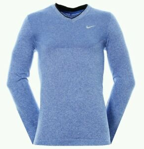 Nike Golf Dri-fit Knit V-Neck Knit Pullover Men's Shirt - 726582 480