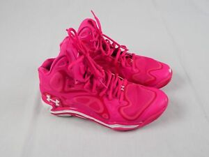 Under Armour Tall - Pink Basketball Shoes (Women's 5.5) - Used