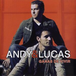 Ganas de Vivir by Andy & Lucas.CD (2007 Epic) Import. Rare & Hard to Find.