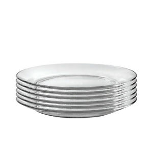 Duralex Lys Clear 11 Inch Dinner Plate Set Of 6