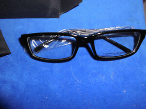 New Authentic Porsche Design Eyewear Glasses Eyeglasses Frames w CASE P'6001
