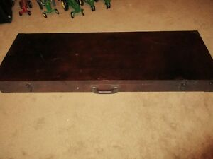 WOODEN GUSE CASE HOLD2 RIFLES MAGS HANDGUNS AMMO ETC.