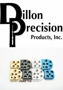 Dillon RL550 SERIES BILLET ALUMINUM BLACK ANODIZED TOOLHEADS # 62133 New