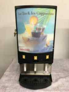 GM CP3A Ice Tea Cappuccino Cold Powdered Beverage Dispenser CONTACT FOR SHIPPING