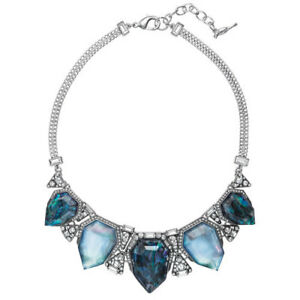 Chloe and Isabel Northern Lights Statement Necklace & Drop Earring Set NEW $178
