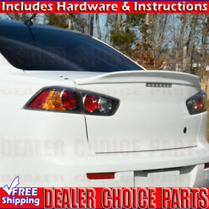 2008-2017 Mitsubishi Lancer Factory Duck Bill Style Spoiler Trunk Wing UNPAINTED