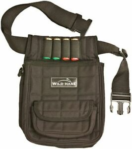 Wild Hare Shooting Gear Deluxe Shot Shell Pouch Black New