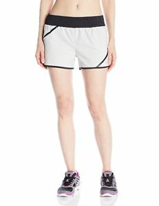 ASICS Women's Distance Shorts Grey Violet Small New
