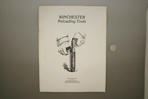 VINTAGE WINCHESTER RELOADING TOOLS BOOKLET by Lewis E. Yearout - 1982