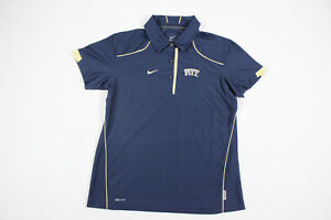 NEW Nike Pittsburgh Panthers - Navy Dri-Fit Polo Shirt (Multiple Sizes)