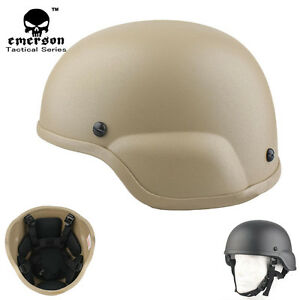 EMERSON ACH MICH 2000 Helmet Hard ABS Shell w Soft Protective Pad Lightweight
