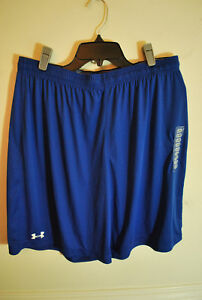 Mens Under Armour Royal Blue Loose Fit Cool Dry & Light Athletic Shorts