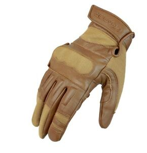 NEW Condor Tactical Glove Coyote Tan Kevlar Leather knuckle insert X Large XL