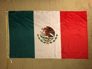 5'X3' Mexico Flag Mexican Banner Country Pennant Bandera Polyester