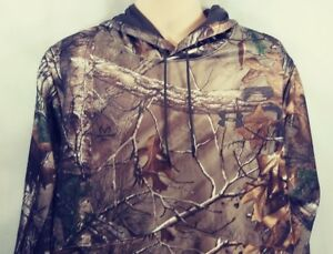Under Armour Storm Camo Hoodie Hunter Sweatshirt Size Men's XLT New with Tags