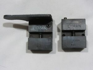Lyman .498 Round Ball 2 Cavity Lead Casting Mould Block 498A Reloading Tool