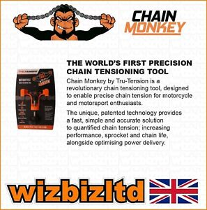 Original Dragons Den Chain Monkey Motorcycle Chain Tensioning Tool TRU001 GBP 24.99