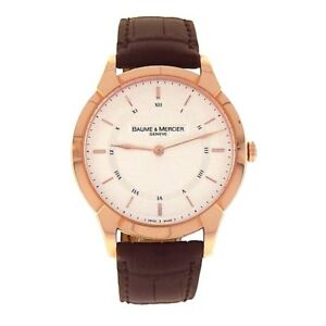 Baume and Mercier Classima Executives 18K Rose Gold Manual Watch M0A08801