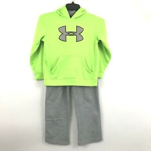 Under Armour Storm Hoodie and Sweat Pants Boys Youth Small MediumYSM 2 Piece