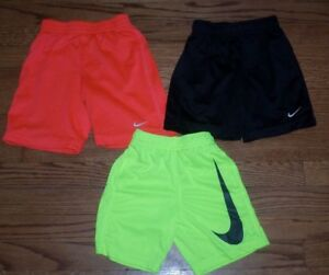 Boys lot of 3 size 4T 4 NIKE Mesh Dry Fit Shorts