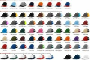200 WHOLESALE Richardson 112 Trucker Ball Cap Mesh back Hat Snapback FREE SHIP