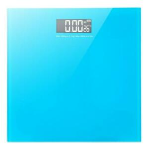 Electronic Digital Bathroom Scale Glass Body Weight Scale 396lb with Battery $14.99