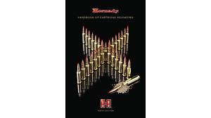 NEW HORNADY  CARTRIDGE RELOADING MANUAL 10TH EDITION
