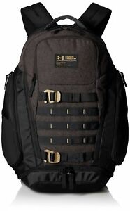 Under Armour Backpack College Laptop Book Bag Water Resistant School Bag Black
