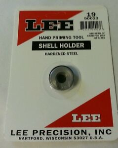 LEE Hand Auto Prime Shell Holder #19 #90023 NIP