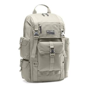 Mens Under Armour Backpack Luggage Travel Bag Water Resistant Laptop Bag Gray