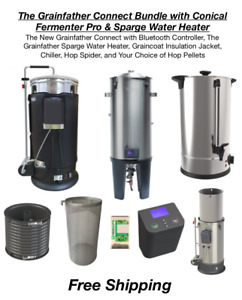 The Grainfather Connect Bundle w Conical Fermenter Pro & Sparge Water Heater