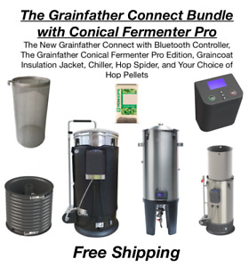 The Grainfather Connect Bundle w Conical Fermenter Pro - Free Shipping
