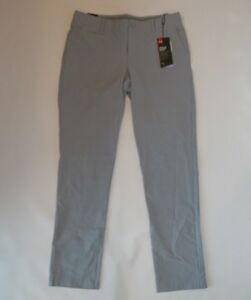 UNDER ARMOUR womens UA LINKS Grey UPF 30 GOLF PANTS Size 8 Rt  $84.99 NEW