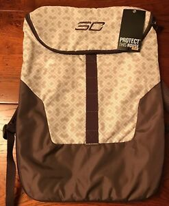 CLEARANCE Under Armour UA SC30 Expandable Sackpack Tote Unisex Brown Tan