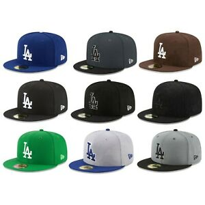 Los Angeles Dodgers LAD MLB Authentic New Era 59FIFTY Fitted Cap 5950 Hat $31.99