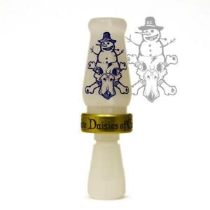 RNT LIMITED EDITION CHRISTMAS DAISY CUTTER DUCK CALL FROSTY THE CUTTER