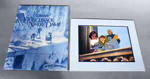 1997 Disney Store Exclusive Commemorative Lithograph - HUNCHBACK OF NOTRE DAME