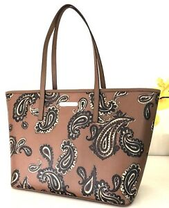NWT Michael Kors Bag Emry Large Tote 38H7XE4T3T Luggage Bag $348