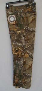 New Women#x27;s L Magellan Hill Country Realtree Xtra Camo Twill Hunting Pants